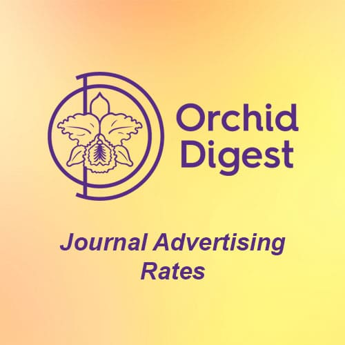 Orchid Digest Advertising Rates